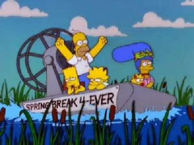 The Simpsons - 11x19 Kill the Alligator and Run