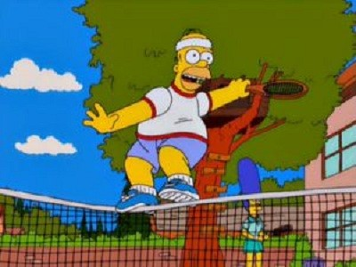 The Simpsons - 12x12 Tennis the Menace