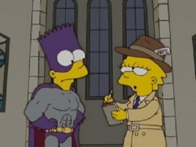 The Simpsons - 18x11 Revenge is a Dish Best Served Three Times