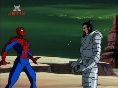 Spider-Man (1994) - 05x09 Secret Wars (1): Arrival