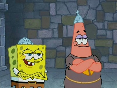 SpongeBob SquarePants - 04x11 Dunces and Dragons (Lost in Time)