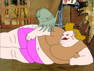 Squidbillies - 02x10 Burned and Reburned Again