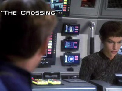Image result for star trek the crossing