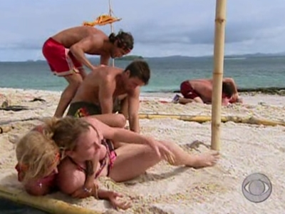 Survivor - 12x03 Panama — Exile Island: Crazy Fights, Snake Dinners