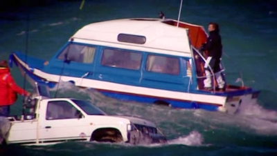 Top Gear (UK) - 10x02 The Second Channel Crossing Attempt
