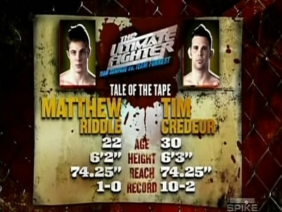 The Ultimate Fighter - 07x04 Everything To Lose