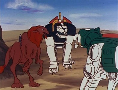 Voltron: Defender of the Universe - 01x43 The Sand People