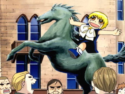 Zatch Bell!   - 01x19 The Dark Lord of the Cursed Castle
