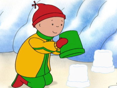 Caillou (CA) - 03x16 Doing it Together! Screenshot