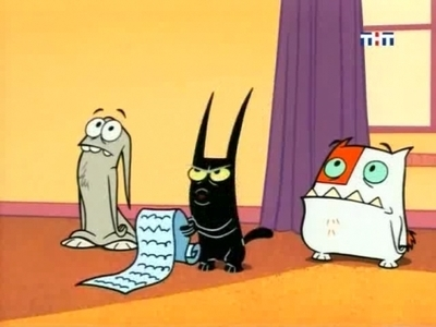 Catscratch - 01x06 The Ghost of Mrs. Cramdilly / A Line in the Litter Box