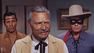 The Lone Ranger (1949) - 05x39 Outlaws in Grease Paint Screenshot
