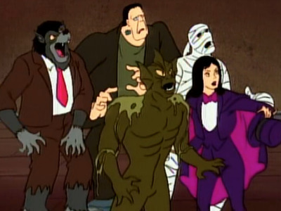 The New Scooby-Doo Mysteries - 01x08 Halloween Hassle at Dracula's Castle