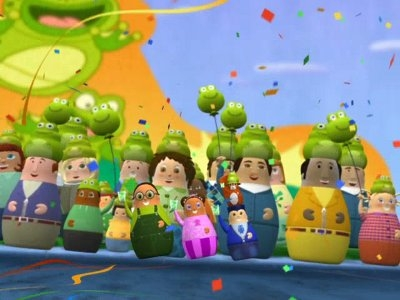 Higglytown Heroes - 01x28 Higgly Frog Day / Eubie's Ele-Fantastic Adventure Screenshot