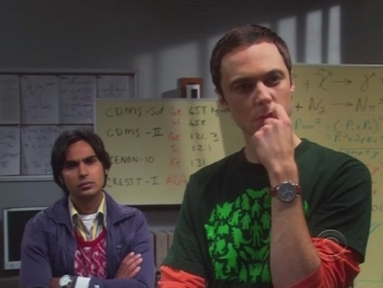 The Big Bang Theory - 03x04 The Pirate Solution