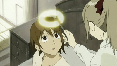 Haibane Renmei - 01x01 Cocoon —Dream of Falling from the Sky —Old Home