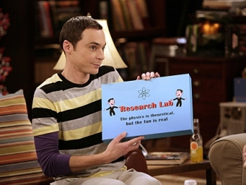 The Big Bang Theory - 03x07 The Guitarist Amplification
