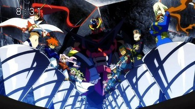 Gurren Lagann - 01x27 All of the Lights in the Sky are Stars Screenshot