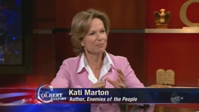 The Colbert Report - 06x13 Kati Marton