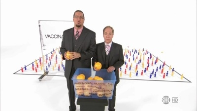 Penn & Teller: Bullshit! - 08x10 Vaccinations Screenshot
