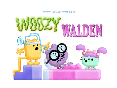 Wow! Wow! Wubbzy! - 02x26 Run for Fun; Woozy Walden Screenshot