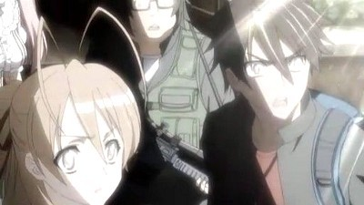 Highschool of the Dead - 01x12 All DEAD'S attack Screenshot