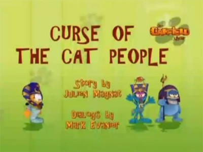 The Garfield Show - 01x25 Curse Of The Cat People