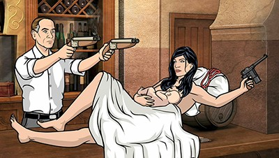 Archer - 02x05 The Double Deuce