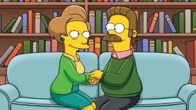 The Simpsons - 22x22 The Ned-Liest Catch