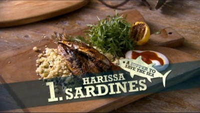 Jamie's Fish Supper - 01x10 Harissa Sardines with Couscous Salad Screenshot