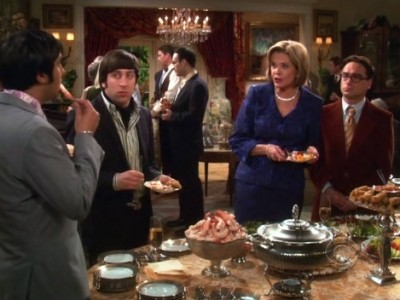 The Big Bang Theory - 04x15 The Benefactor Factor