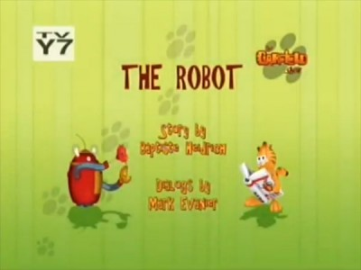 The Garfield Show - 01x22 The Robot