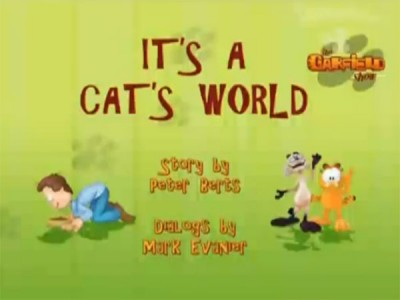 The Garfield Show - 01x27 It's A Cat's World