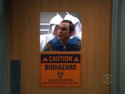 The Big Bang Theory - 04x23 The Engagement Reaction
