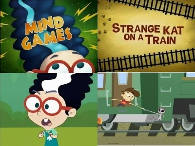Kid vs Kat (CA) - 02x17 Mind Games / Strange Kat on a Train