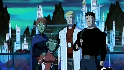 Young Justice - 02x02 Earthlings