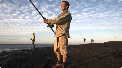 Extreme Fishing With Robson Green (UK) - TV Special: Robson's Extreme Fishing Countdown Screenshot