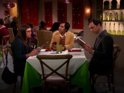 The Big Bang Theory - 06x01 The Date Night Variable
