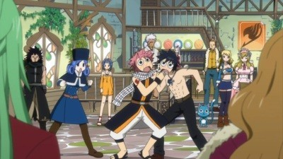 Fairy Tail - 03x46 Chase the Infinite Clock