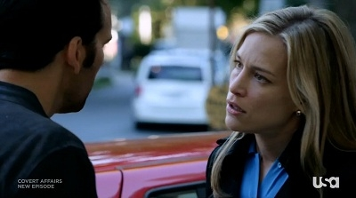 Covert Affairs - 03x14 Scary Monsters (and Super Creeps)