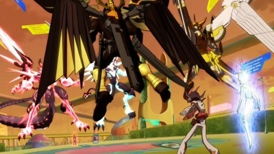Yu-Gi-Oh! Zexal - 01x73 The Illusive Great Clash!! Double Hope vs. Double Galaxy-Eyes!! Screenshot
