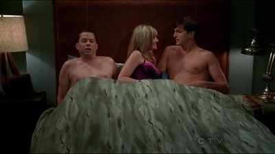 Two and a Half Men - 10x03 Four Balls, Two Bats and One Mitt
