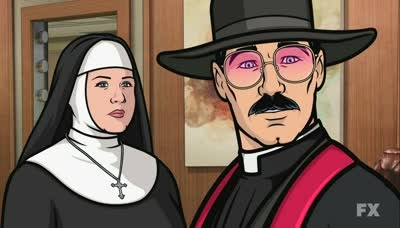 Archer - 04x11 The Papal Chase