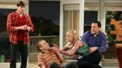 Two and a Half Men - 10x20 Bazinga! That's From A TV Show