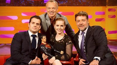The Graham Norton Show (UK) - 13x11 Russell Crowe, Amy Adams, Henry Cavill, Katy B