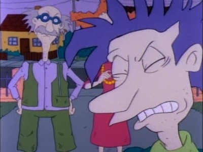 Rugrats - 01x17 Monsters In The Garage