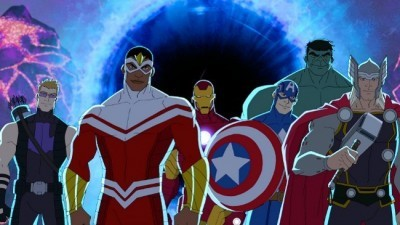 Avengers Assemble - 01x03 Ghost of a Chance