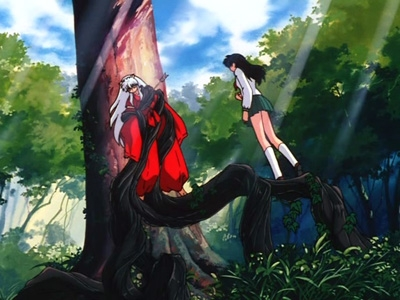 Inuyasha - 01x01 The Girl Who Overcame Time… and the Boy Who Was Just Overcome