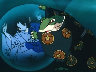 Inuyasha - 01x08 The Toad Who Would Be Prince