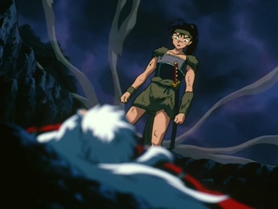 Inuyasha - 02x13 The Deadly Trap of Kagura, The Wind Sorceress!