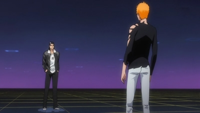 Bleach - 16x12 Ichigo vs. Ginjō! To the Game's Space